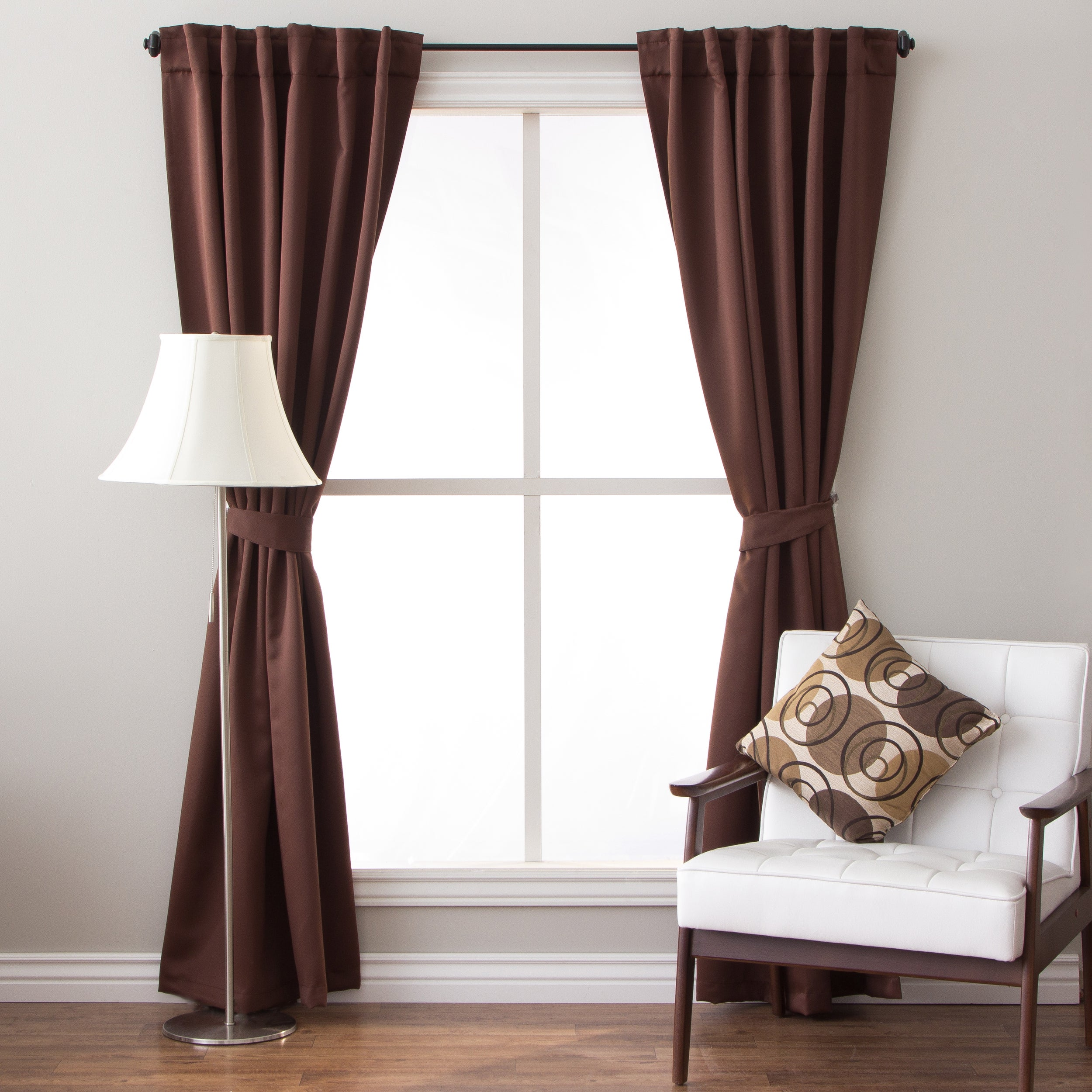 Arlo Blinds 96 Inch Insulated Back Tab Blackout
