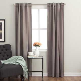Arlo Blinds 96-inch Insulated Back Tab Blackout Curtain Panel Pair (2 options available)