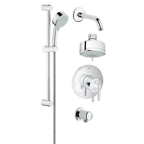 Grohe GrohFlex Shower Set 35055000 StarLight Chrome