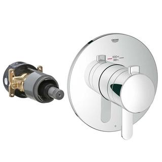 Grohe Europlus New Grohflex Cosmopolitan Thermostatic Kit 1 Chrome