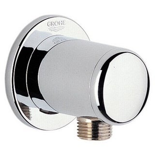 Grohe Relexa Neutral Chrome 0.5-inch Wall Union Chrome