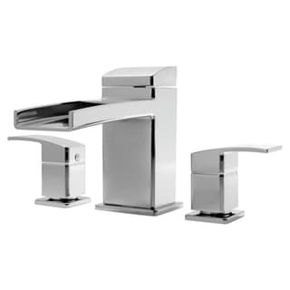 Pfister Kenzo Shower Trim 06 Kz R/ T 3H 2-handle Cr Polished Chrome