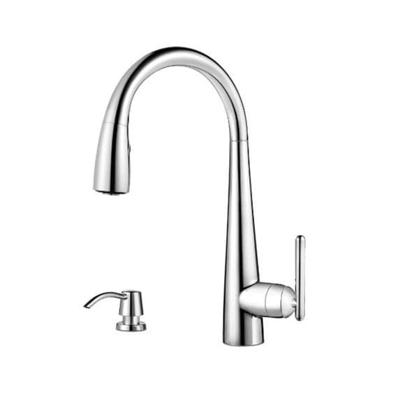 Pfister Lita Pull Down Kitchen Faucet Polished Chrome Free