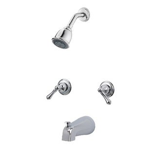 Pfister 03 Series Shower Trim 3S 2-handle Trim Kit Bell Polished Chrome