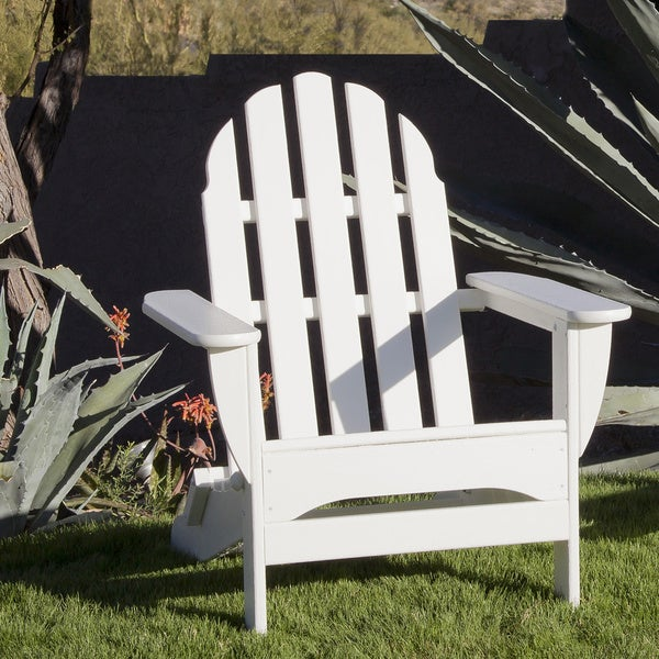 Ivy Terrace Clics Folding Adirondack Weather Proof Patio Chair