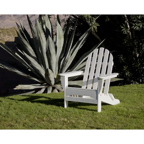 Ivy Terrace Clics Folding Adirondack Weather Proof Patio Chair