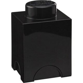 LEGO Storage Brick 1 (Option: Black)