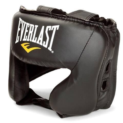 Everlast Black MMA Headgear