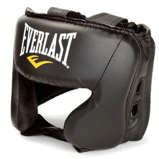 Everlast Black MMA Headgear