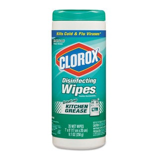 Clorox 7 x 8-inch Fresh Scent Disinfecting Wipes 35-count Canister