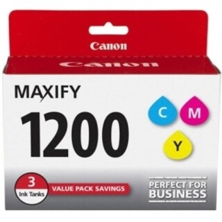 Canon PGI-1200CMY Original Ink Cartridge - Cyan, Magenta, Yellow