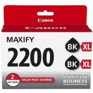 Canon PGI-2200 XL Original Ink Cartridge Twin-pack - Black