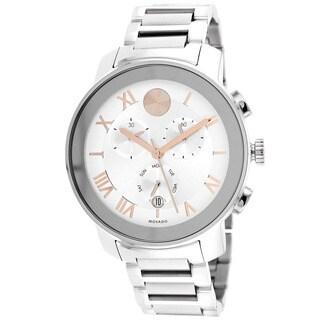 Movado Men's 3600205 Bold Round Silvertone Bracelet Watch