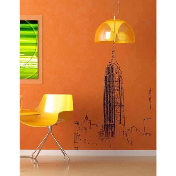 Empire state building Skyline NY New York Vinyl Wall Art