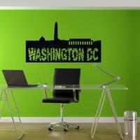 Washington DC Vinyl Wall Art