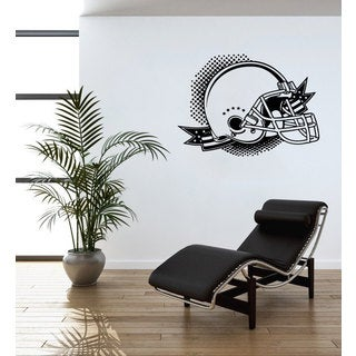 American Football Helmet Vinyl Wall Art