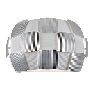 Access Lighting Layers 2-light Wall Sconce, Chrome