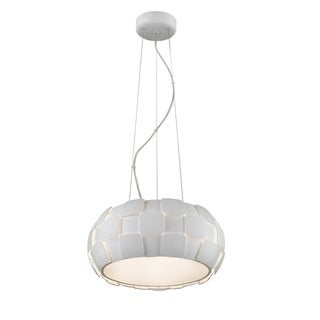 Access Lighting Layers 5-light 18-inch Pendant, White