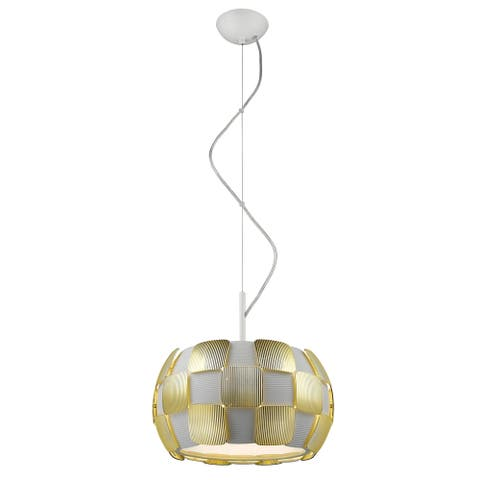 Access Lighting Layers LED 14-inch Pendant, Gold