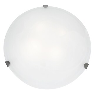 Access Lighting Mona LED 20-inch Wall/ Flush Mount, Brushed Steel