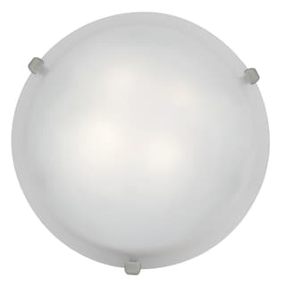 Access Lighting Mona LED 12-inch Wall/ Flush Mount, Brushed Steel