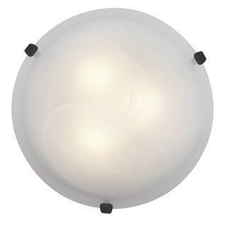 Access Lighting Mona LED 16-inch Wall/ Flush Mount, Rust
