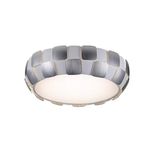Access Lighting Layers LED 22-inch Flush Mount, Chrome