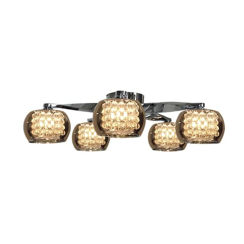 Access Lighting Glam 5-light Flush Mount