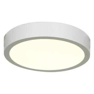 Access Lighting Strike LED Round 10-inch Flush Mount, White