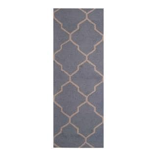 Herat Oriental Indo Hand-tufted Contemporary Wool Runner (2'6 x 7')