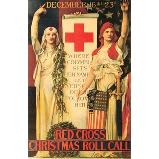 Marmont Hill Art Collective 'Christmas Call' Canvas Art