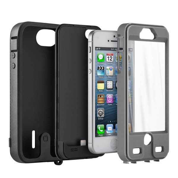 new concept 7311b 504e6 iBattz Mojo Refuel Armor Shock-proof Battery Case for Apple iPhone 5/ 5S