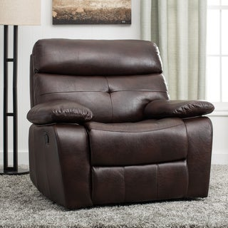 Alana Cherry Brown Recliner