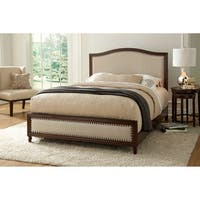 Gracewood Hollow Shaara Wooden Platform Bed in Espresso Finish