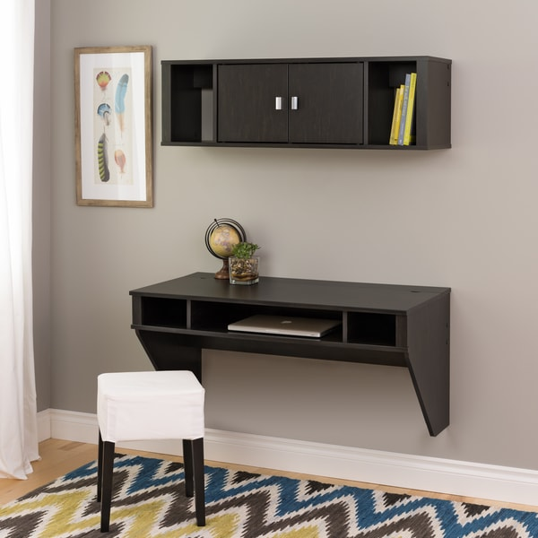 Soho Washed Black Desk and Hutch Set - Free Shipping Today - Overstock