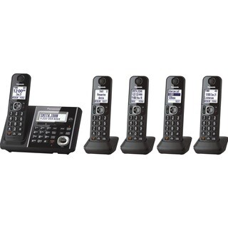 Panasonic Link2Cell Bluetooth Cordless Phone - Black