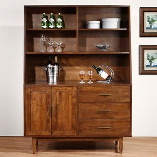 Carson Carrington Danish Highboy Buffet