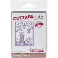 """CottageCutz Elites Die-Spring Scene 1, 3""""X4"""""""