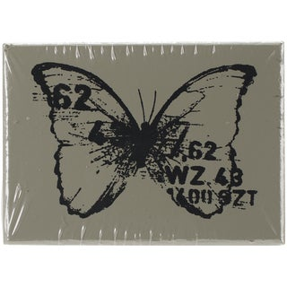 """Finnabair Wood Mounted Stamps 1.5""""X2""""-Butterfly 3"""