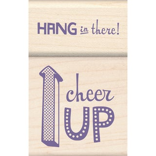 "Inkadinkado Mounted Stamp Set 1.75""X2.75""-Cheer Up"