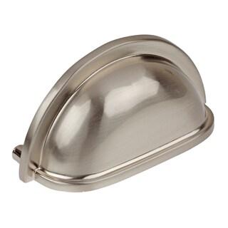 GlideRite 2.75-inch Satin Nickel Cap Bin Cabinet Pulls