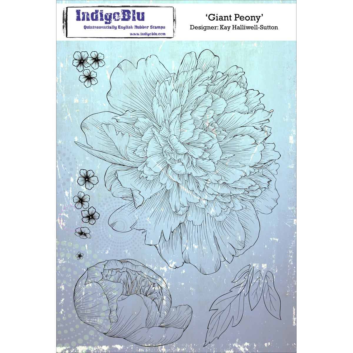 Twit Twoo IndigoBlu Cling Mounted Stamp 5 by 4-Inch