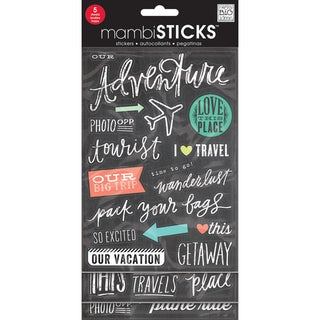 Stickers Value Pack -Chalk - Tourist