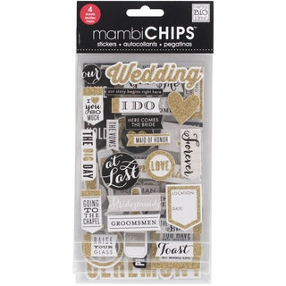 Chipboard Value Pack-Our Wedding