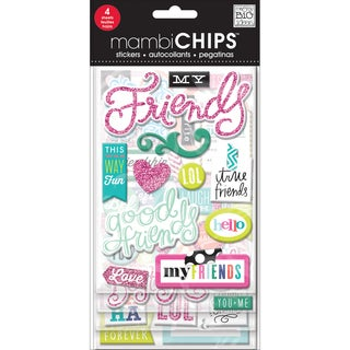 Chipboard Value Pack-Good Friends