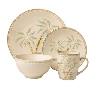 Pfaltzgraff Everyday Palm 16-piece Dinnerware Set  sc 1 st  Overstock & Tropical Dinnerware Set Casual Dinnerware For Less | Overstock