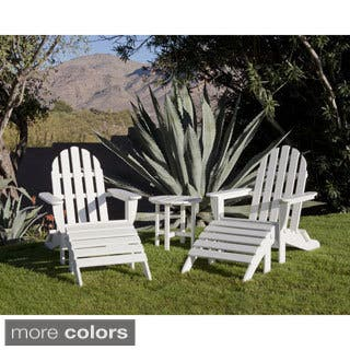 Ivy Terrace Classics 5-piece Folding Adirondack and Ottoman Set|https://ak1.ostkcdn.com/images/products/10010999/P17158880.jpg?impolicy=medium