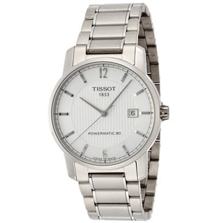Tissot Men's T0874074403700 'T-Tempo' Automatic Stainless Steel Watch