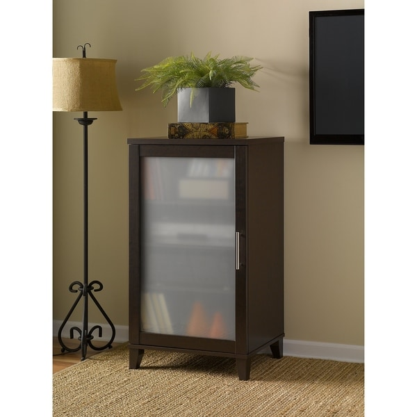 Charmant Bush Furniture Somerset Media Cabinet In Mocha Cherry