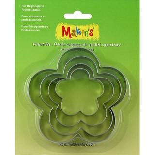 Makin's Clay Cutters 4/Pkg-Flower